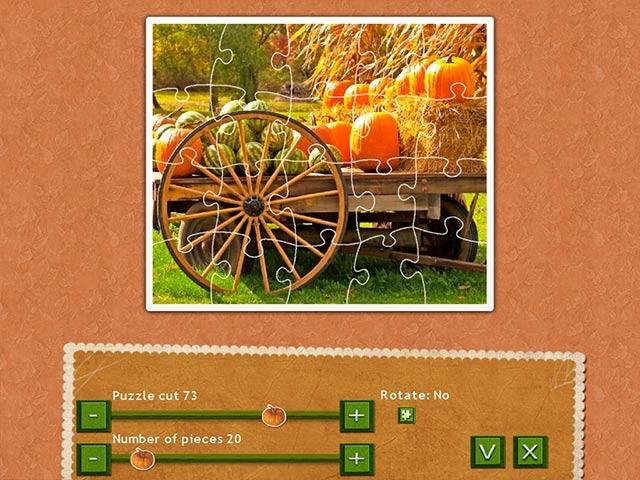 Holiday Jigsaw Thanksgiving Day 3 Screenshot