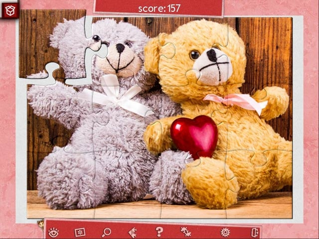 Holiday Jigsaw Valentine's Day 3 Screenshot