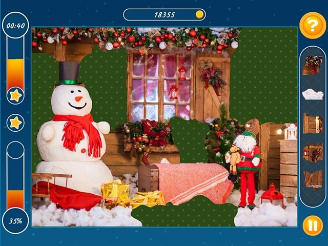 Holiday Mosaics Christmas Puzzles Screenshot