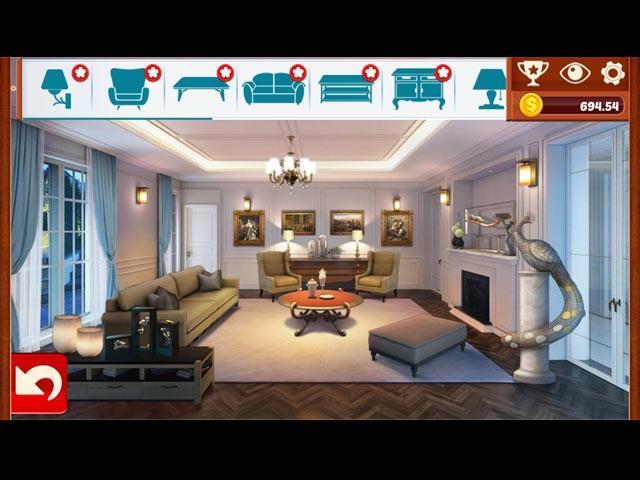 Home Designer: Living Room Screenshot