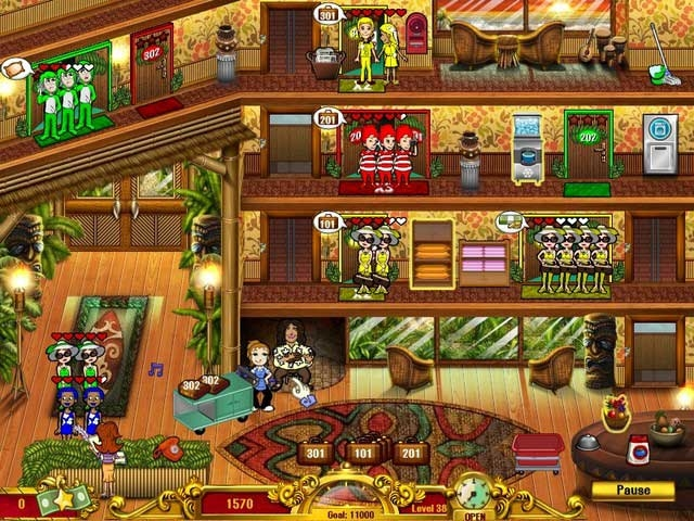 Hotel Dash: Suite Success Screenshot