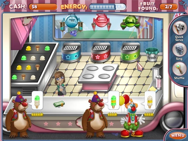 Ice Cream Craze: Natural Hero Screenshot