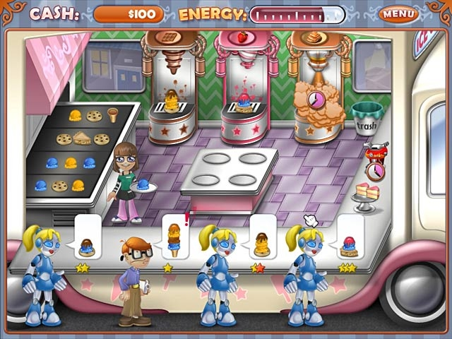 Ice Cream Craze: Tycoon Takeover Screenshot