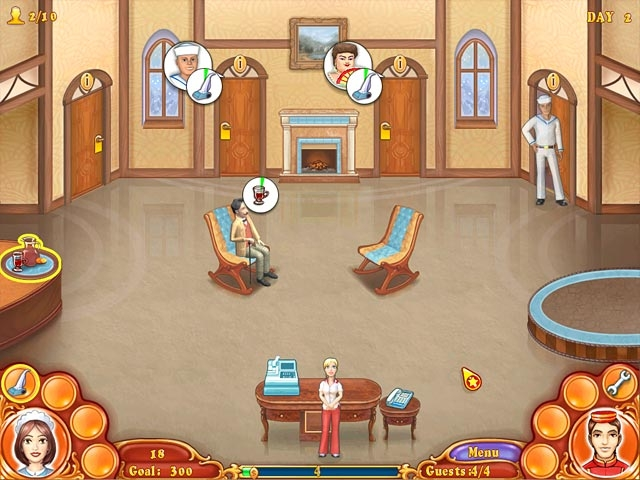 Jane's Hotel Mania Screenshot