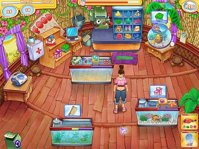 Jenny's Fish Shop Screenshot