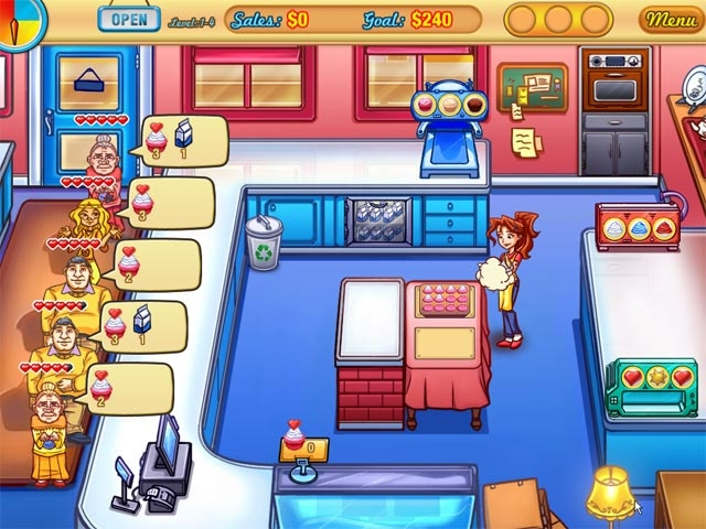 Jessica's Cupcake Cafe Screenshot