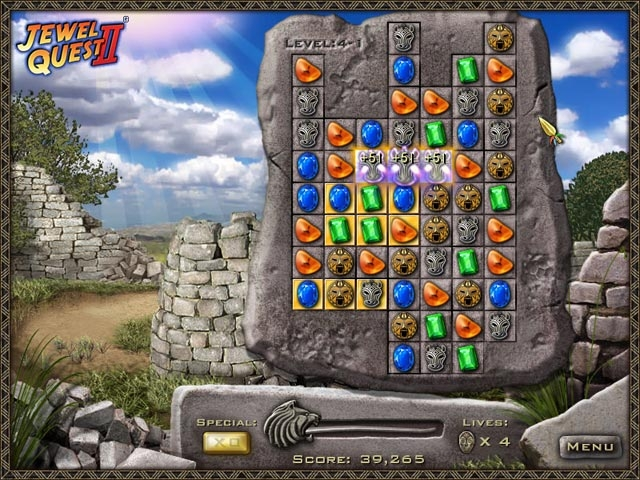 Jewel Quest II Screenshot