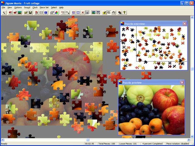 Jigsaw Mania Screenshot
