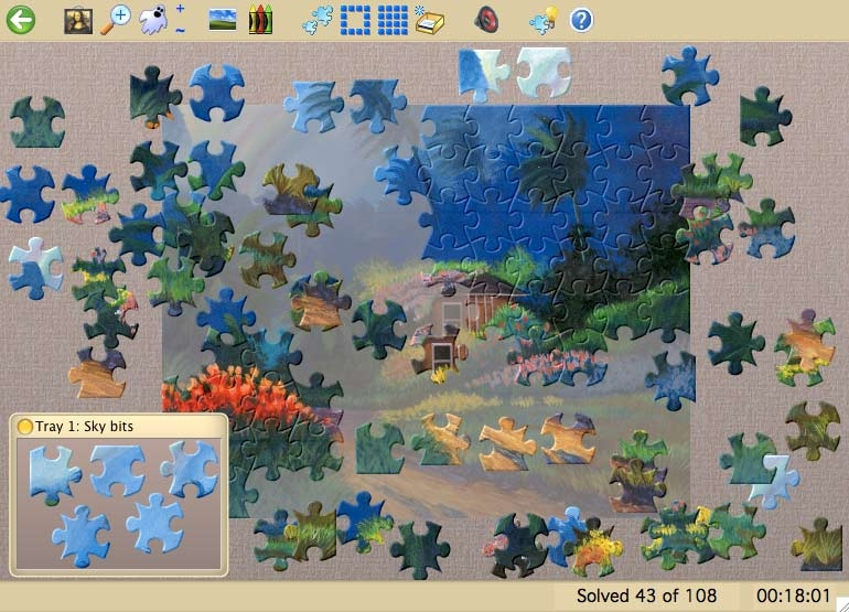 Jigsaws Galore Screenshot