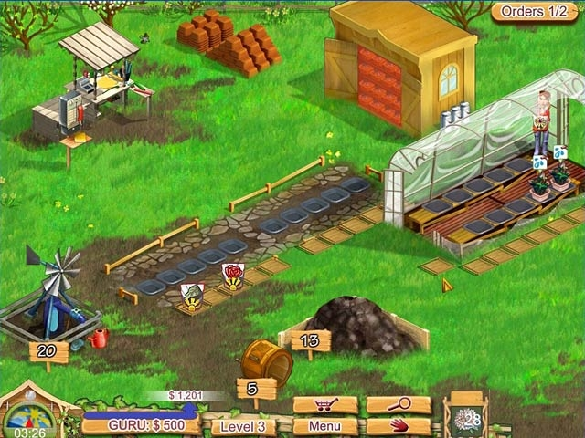 Kelly Green Garden Queen Screenshot