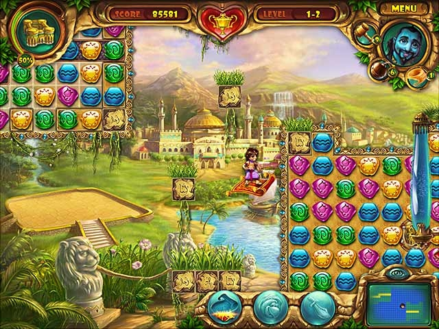 Lamp of Aladdin Screenshot