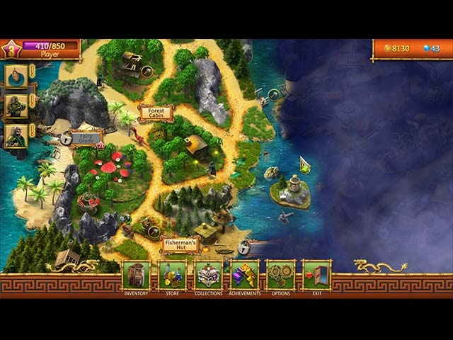 Lost Island: Mahjong Adventure Screenshot