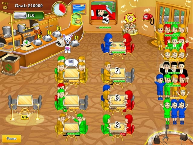 Lunch Rush HD Screenshot