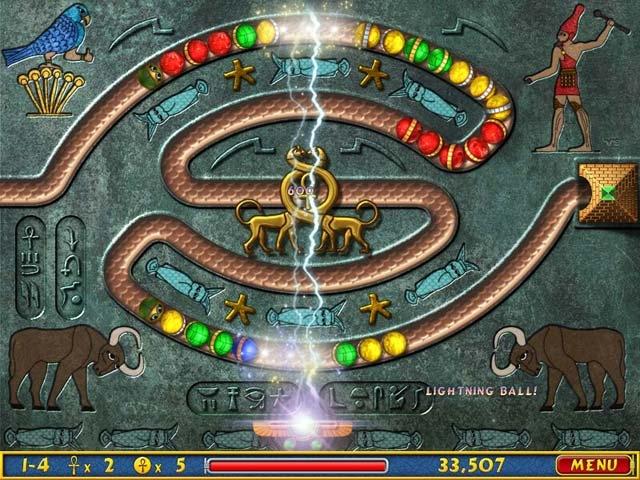 Luxor Amun Rising Screenshot