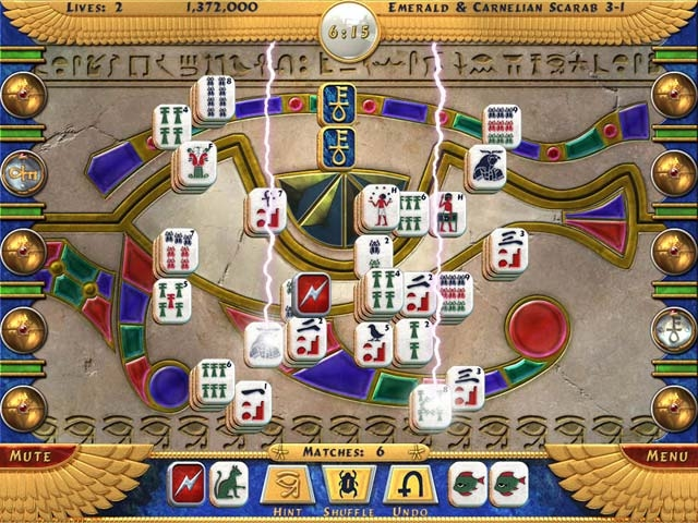Luxor Mahjong Screenshot