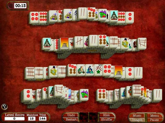 MahJong Adventures Screenshot