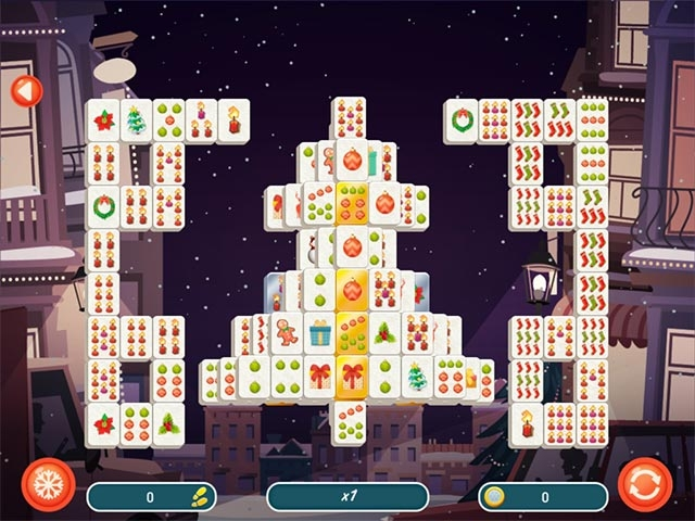 Mahjong Christmas 2 Screenshot