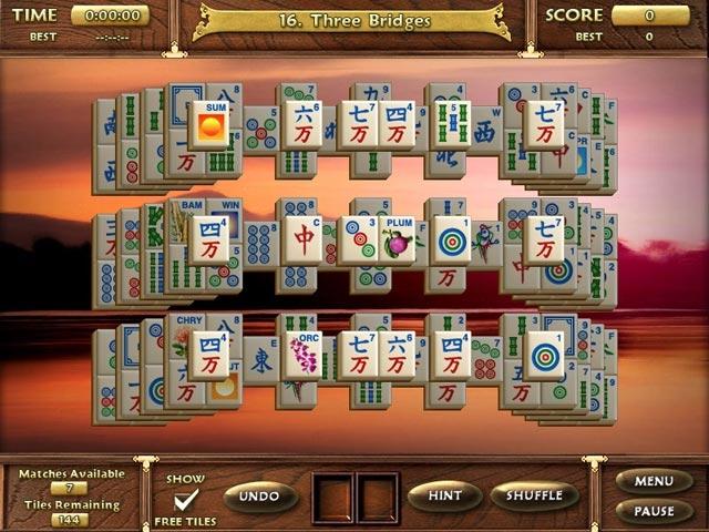 Mahjong Escape Ancient Japan Screenshot