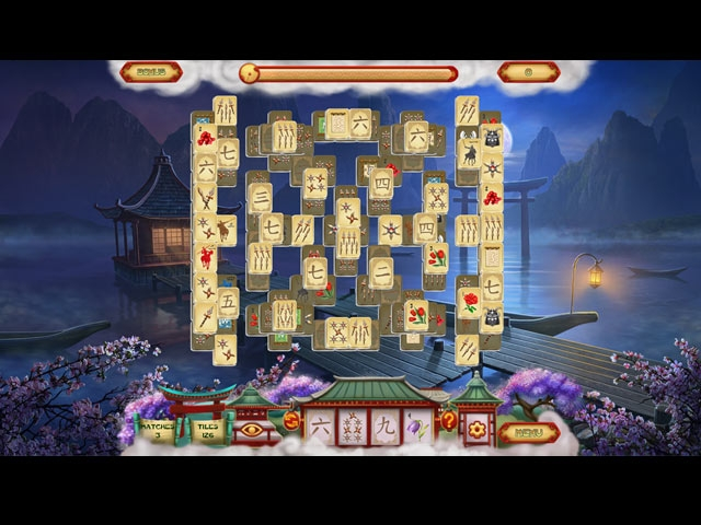 Mahjong Forbidden Temple Screenshot