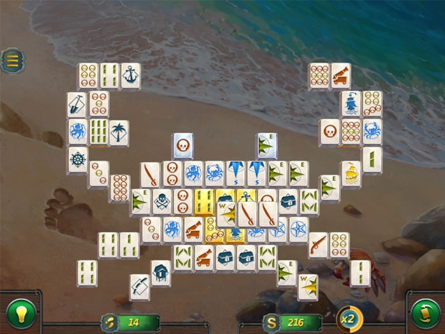 Mahjong Gold 2: Pirates Island Screenshot