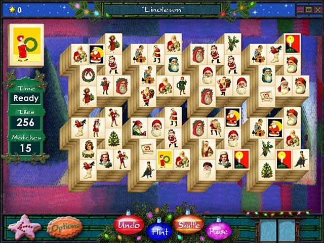 Mahjong Holidays 2006 Screenshot