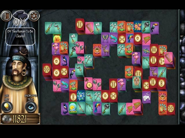 Mahjong Masters: Temple of the Ten Gods Screenshot