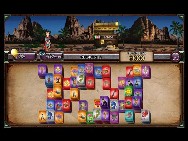 Mahjong Masters: The Amazing Architect Screenshot