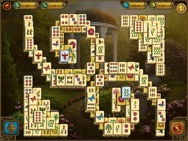 Mahjong Royal Towers Screenshot