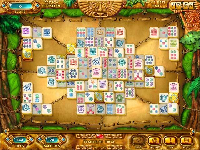 Mahjongg: Ancient Mayas Screenshot