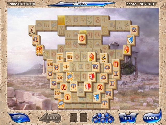 Mahjongg Artifacts Screenshot
