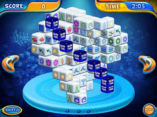 Mahjongg Dimensions Deluxe Screenshot