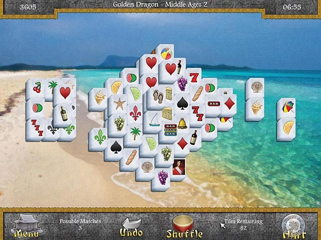 Mahjongg: Legends of the Tiles Screenshot
