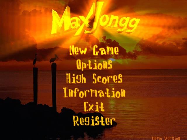 MaxJongg Screenshot