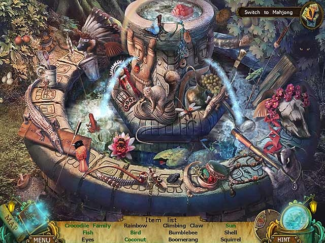 Mayan Prophecies: Cursed Island Screenshot