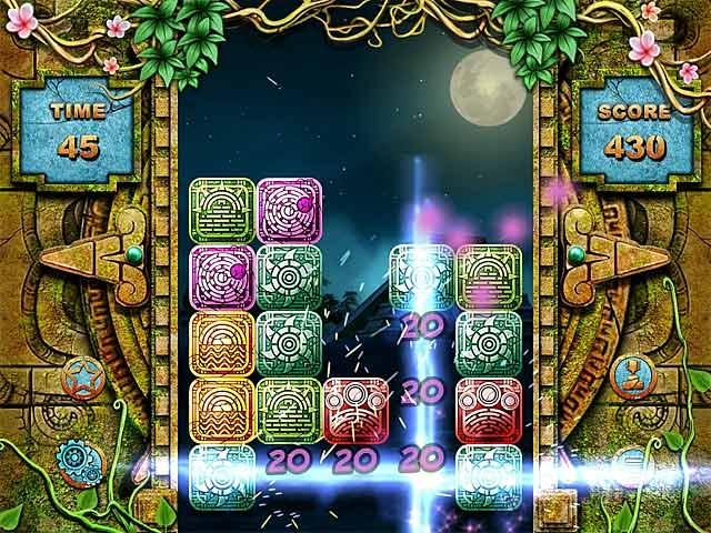 Mayan Puzzle Screenshot