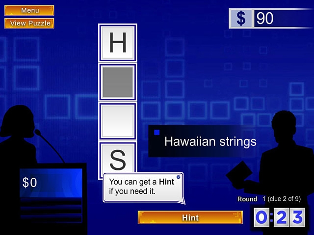 Merv Griffin's Crosswords Screenshot