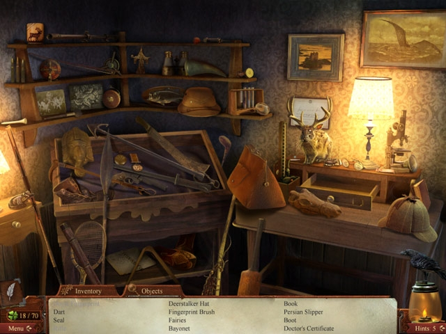 Midnight Mysteries: Haunted Houdini Deluxe Screenshot