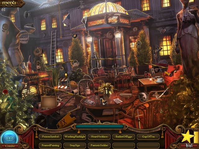Millionaire Manor: The Hidden Object Show Screenshot