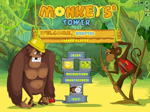 Monkey's Tower Screenshot