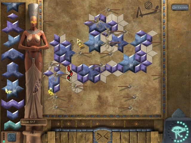 Mosaic Tomb of Mystery Screenshot