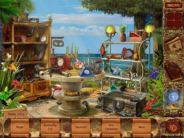 Mysteries of Magic Island Screenshot