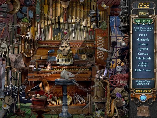 Mystery Case Files: Ravenhearst Screenshot