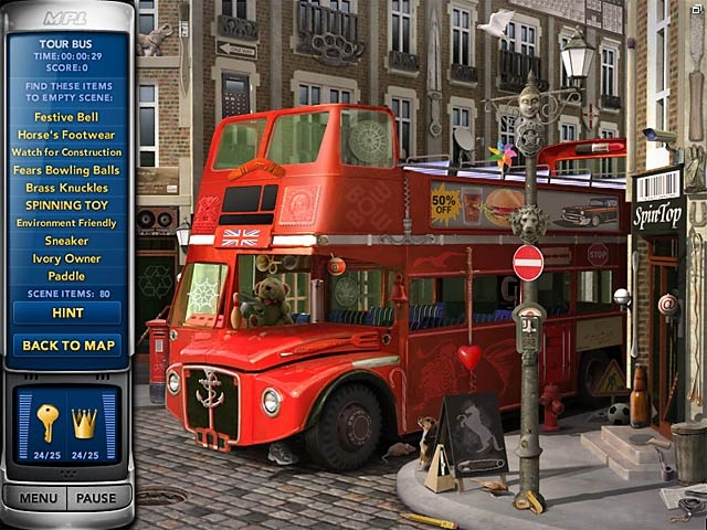 Mystery P.I.: The London Caper Screenshot