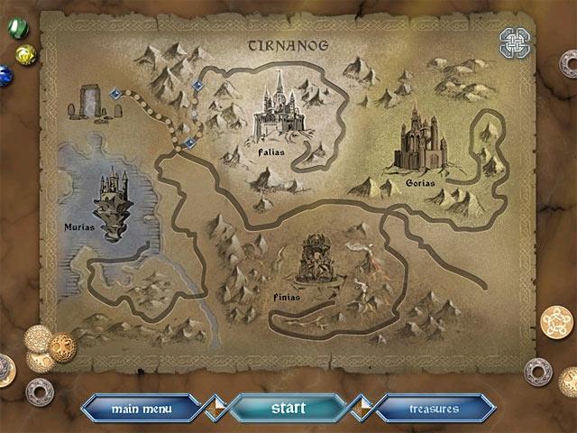 Mythic Pearls: The Legend of Tirnanog Screenshot