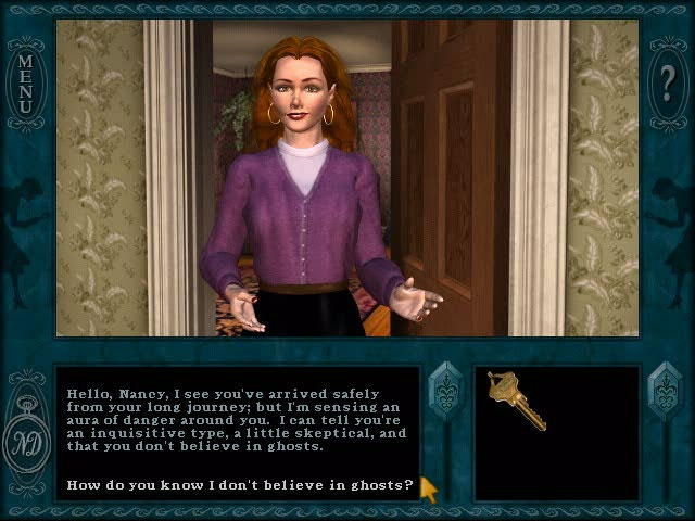 Nancy Drew: Message in a Haunted Mansion Screenshot