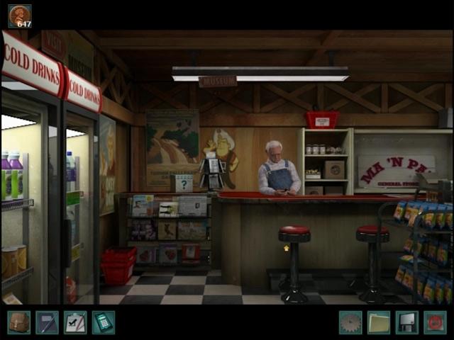 Nancy Drew: The Trail of the Twister Screenshot