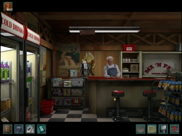 Nancy Drew: The Trail of the Twister Screenshot