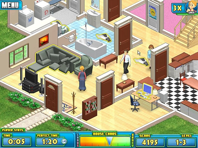 Nanny Mania Screenshot