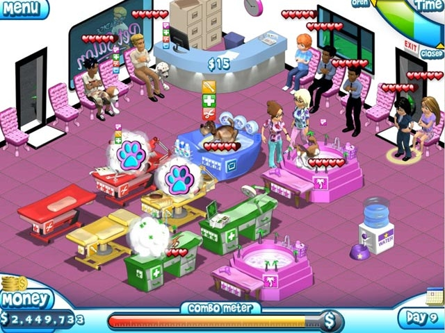 Paradise Pet Salon Screenshot