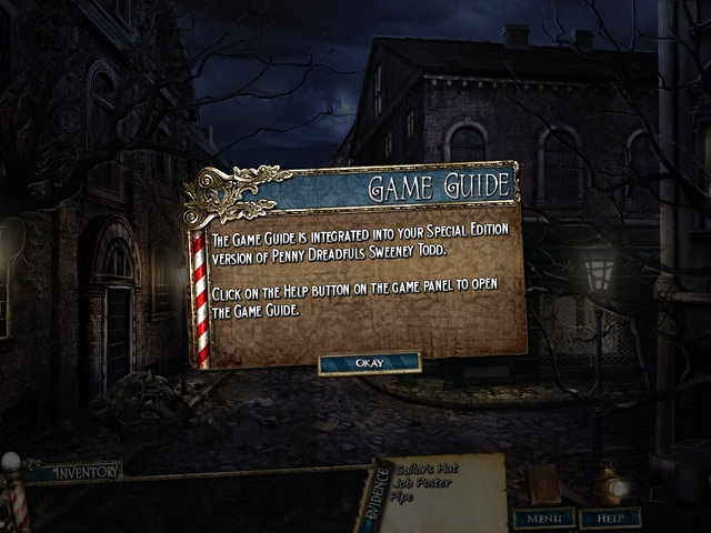 Penny Dreadfuls: Sweeney Todd Collector`s Edition Screenshot